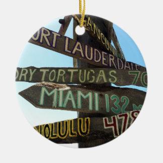 Key Westのシンボルや象徴 セラミックオーナメント