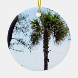 Key Westのビーチ セラミックオーナメント