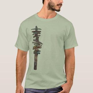 Key Westの印ポスト Tシャツ