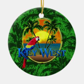 Key Westの日没 セラミックオーナメント