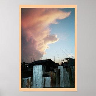Key Westの日没 ポスター
