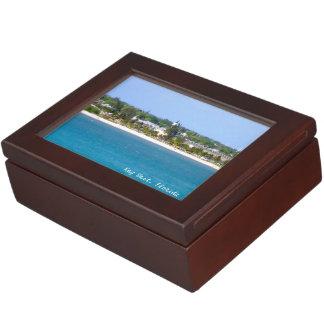 Key Westの海岸線 ジュエリーボックス
