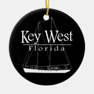 Key Westの航行 セラミックオーナメント
