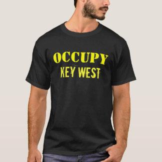 Key Westを占めて下さい Tシャツ