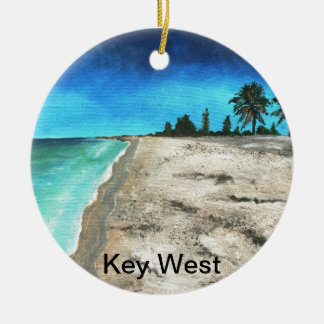 Key Westフロリダのクリスマスのオーナメント セラミックオーナメント