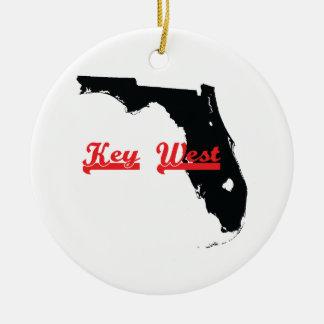 Key Westフロリダ セラミックオーナメント