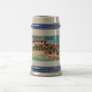 Key WestフロリダFLの古いヴィンテージ旅行記念品 ビールジョッキ