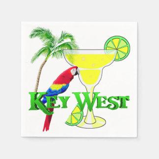 Key Westマルガリータ スタンダードカクテルナプキン