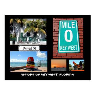 Key West、フロリダの視野 ポストカード