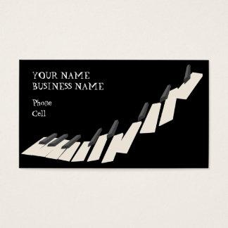Keybaord -音楽業界カード 名刺