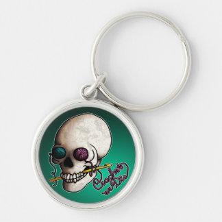 、keychainかぎ針で編みますか、または死んで下さい キーホルダー