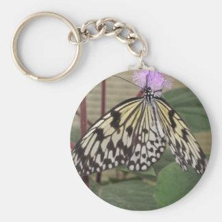 Keychainかキーホルダー-ペーパー凧の蝶 キーホルダー