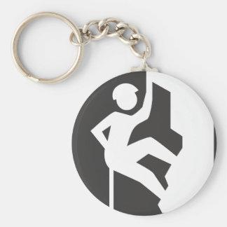 Keychainに上る石 キーホルダー