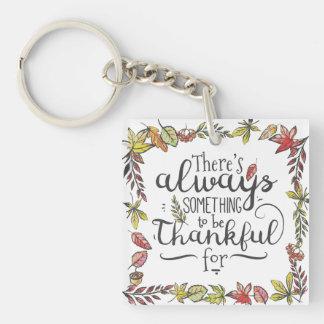 | Keychainのために感謝しているがあることを常に何か キーホルダー
