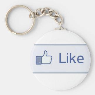 」KeychainのようなFacebook 「 キーホルダー