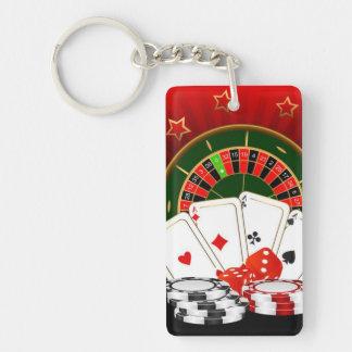 Keychainのカジノ キーホルダー