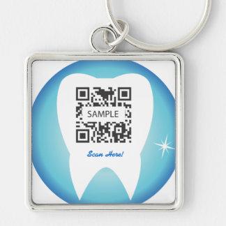 Keychainのテンプレートの歯科歯 キーホルダー