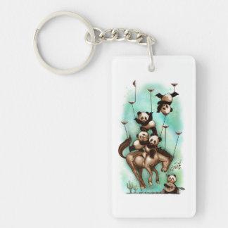 keychainのパンダ キーホルダー
