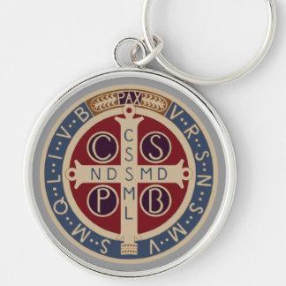 KeychainのSt.ベネディクトメダル キーホルダー