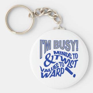keychainをねじる心 キーホルダー
