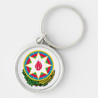 Keychainアゼルバイジャンの紋章付き外衣 キーホルダー