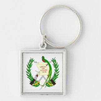 Keychainグアテマラの紋章付き外衣 キーホルダー