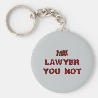 Keychain弁護士 ベーシック丸型缶キーホルダー