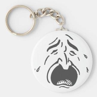 Keychain泣く顔のLt キーホルダー