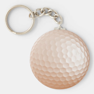 Keychain |のゴルフ・ボール-色。 キーホルダー