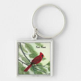 Keychain -赤い(鳥)ショウジョウコウカンチョウ キーホルダー