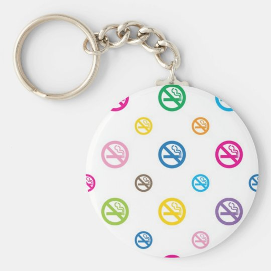 keyring_No smoking_w キーホルダー