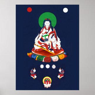 Khandro Chö-ying Nyimaの' ö-Zér [ポスター] ポスター