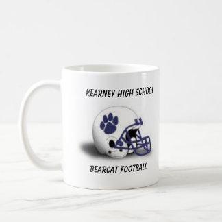 KHSの闘士のフットボール用ヘルメットのコーヒー・マグ コーヒーマグカップ