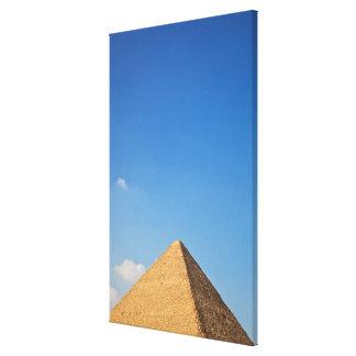 Khufuのピラミッド キャンバスプリント