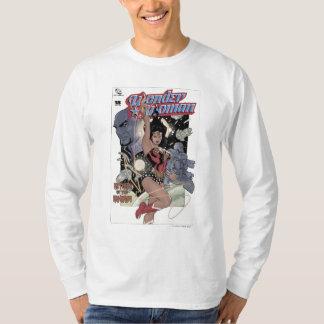 Khundi色のワンダーウーマンのリターン Tシャツ
