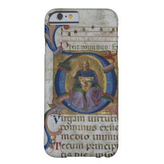 Kiを描写している氏531 f.169v Historiatedのイニシャル「D」 Barely There iPhone 6 ケース
