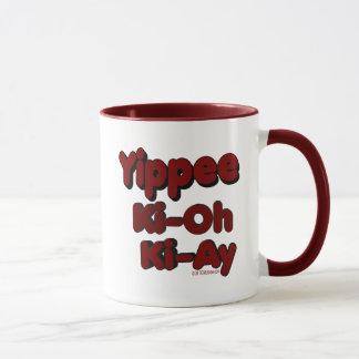 ki-ay Yippie ki oh マグカップ