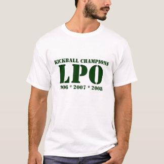 Kickballのチャンピオン、LPO、2006年* 2007年* 2008年 Tシャツ