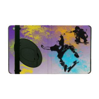 KickstandのスケートボーダーのiPad 2/3/4の場合 iPad ケース