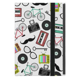 KickstandのヒップスターパターンiPad Miniケース iPad Mini ケース