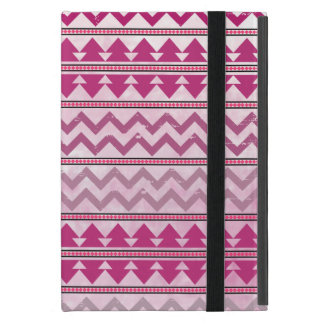 Kickstandのピンクの種族の刺激を受けたなiPad Miniケース iPad Mini ケース