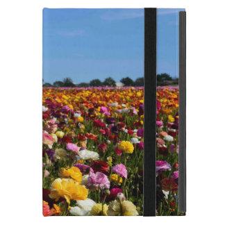 Kickstandの花分野無しのiPadの小型場合 iPad Mini ケース