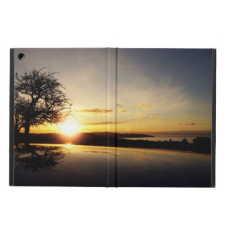 Kickstand無しの日没のiPadの空気箱 iPad Airケース