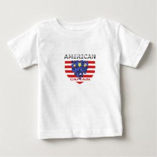 Kid XN8アメリカの大尉 ベビーTシャツ