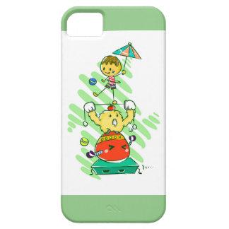 Kiddoのサーカス iPhone SE/5/5s ケース