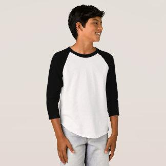 Kids' American Apparel 3/4 Sleeve Raglan T-Shirt Tシャツ