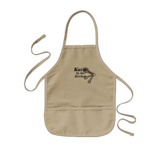 Kids Apron ADD YOUR NAME Boy or Girl Chef 子供用エプロン