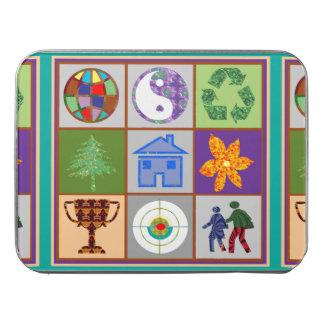 Kids World Globe Yin Yang Recycle Symbols ジグソーパズル