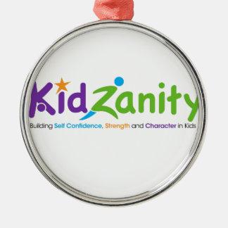KidZanityのロゴ メタルオーナメント