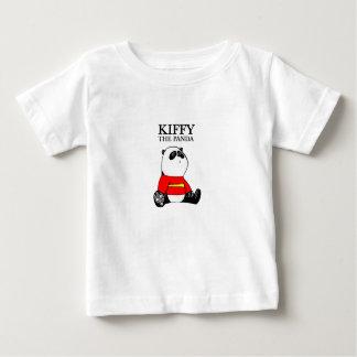 KiffyパンダのベビーのTシャツ ベビーTシャツ